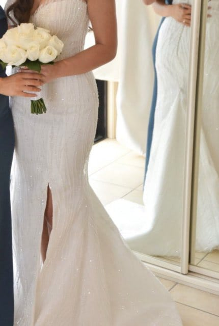 Norma Bridal Couture – Size 8 Strapless dress | Second hand wedding dresses Ryde - 4