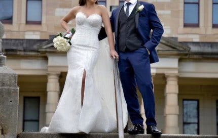 Norma Bridal Couture – Size 8 Strapless dress | Second hand wedding dresses Ryde - 6