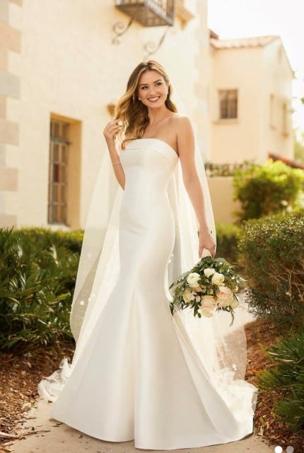 Stella York – Size 16 Fit and Flare dress | Second hand wedding dresses JOYNER - Size 16