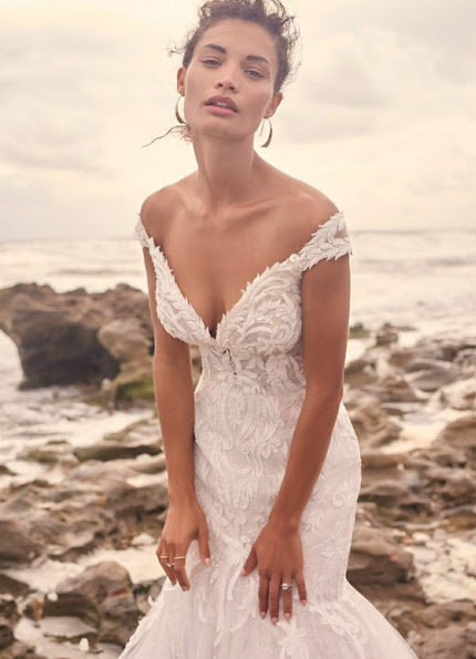 Maggie Sottero – Size 14 Fit and Flare dress | Second hand wedding dresses North Sydney - 2