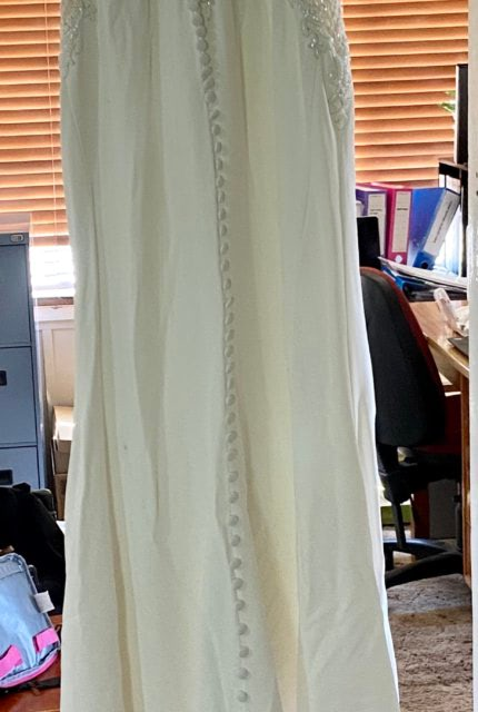 Martina Liana – Size 8 Fit and Flare dress | Second hand wedding dresses Yass - 4