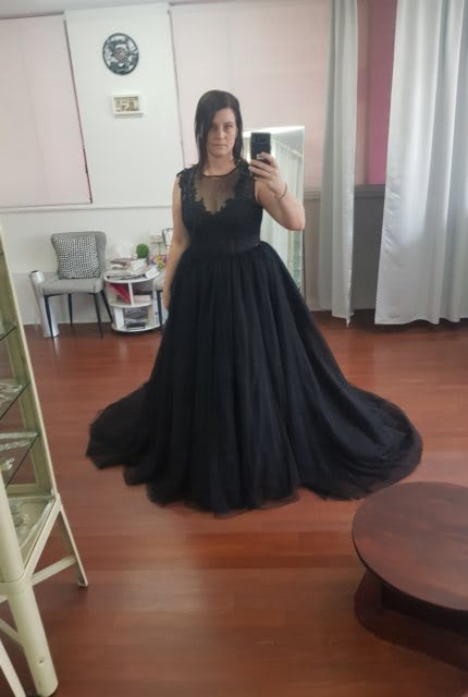 Catherine R Couture – Size 14 Ball Gown dress | Second hand wedding dresses Adamstown - 4