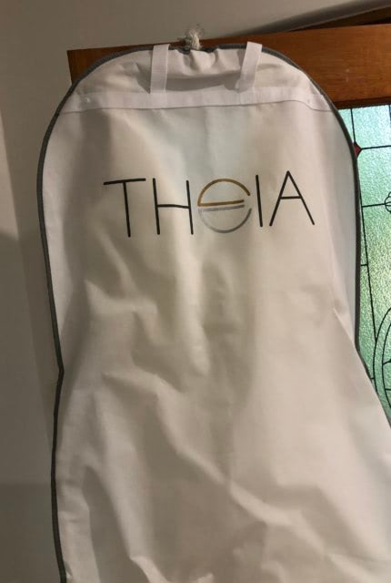 Theia Couture – Size 16 Fit and Flare dress | Second hand wedding dresses Glenalta - 5