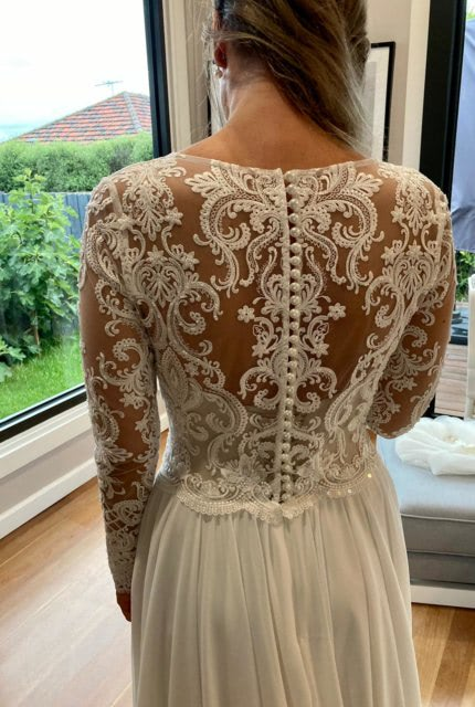 Bespoke / Other – Size 12 Sheath dress | Second hand wedding dresses Armstrong Creek - Size 12