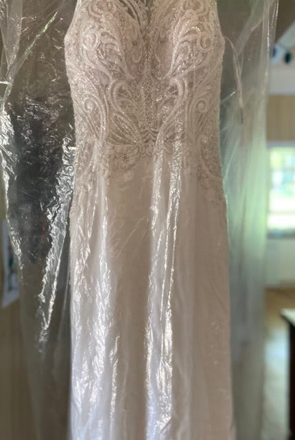 Martina Liana – Size 8 Fit and Flare dress | Second hand wedding dresses Yass - 6