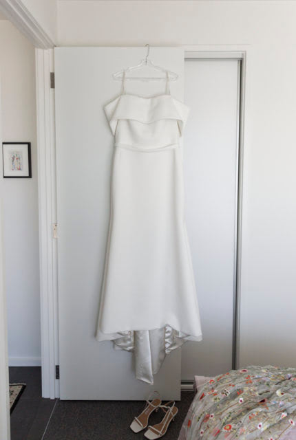 Caleche – Size 20 Trumpet dress | Second hand wedding dresses Ringwood North - 4