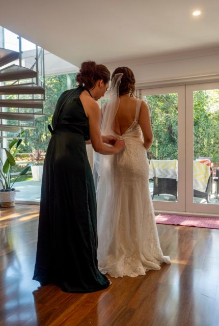 Cizzy Bridal – Size 12 A-Line dress | Second hand wedding dresses Narre Warren - 3