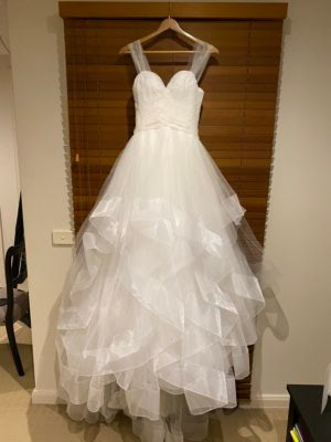 Ball Gown dress by Suzanne Harward