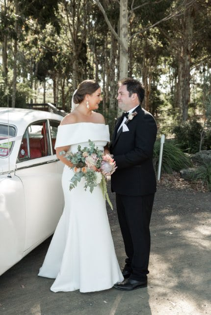 Caleche – Size 20 Trumpet dress | Second hand wedding dresses Ringwood North - 5