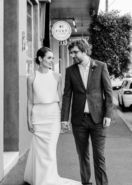 One Day Bridal – Size 10 Two Piece dress | Second hand wedding dresses Ascot Vale - 2