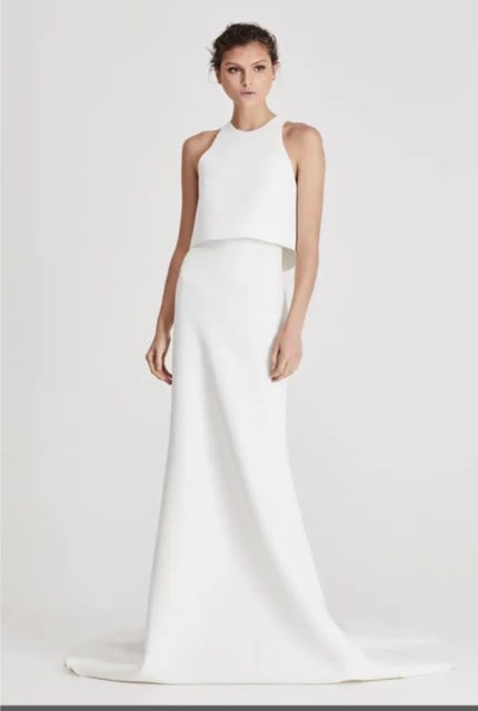 One Day Bridal – Size 10 Two Piece dress | Second hand wedding dresses Ascot Vale - Size 10