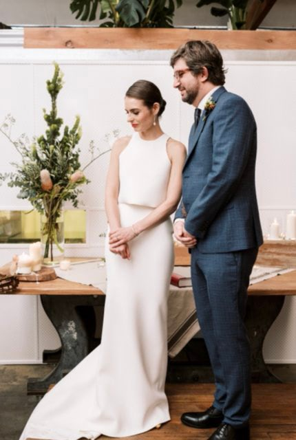 One Day Bridal – Size 10 Two Piece dress | Second hand wedding dresses Ascot Vale - 5