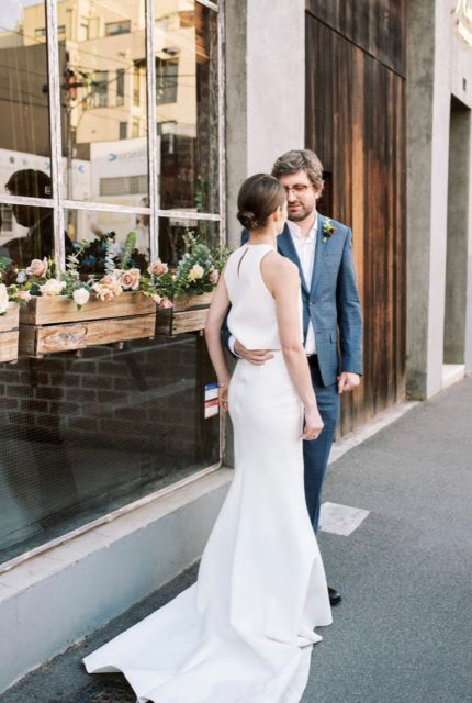 One Day Bridal – Size 10 Two Piece dress | Second hand wedding dresses Ascot Vale - 6