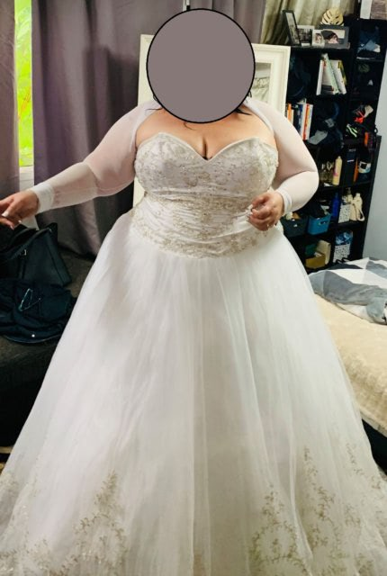 Bespoke / Other – Size 24 A-Line dress | Second hand wedding dresses Quakers Hill - 6