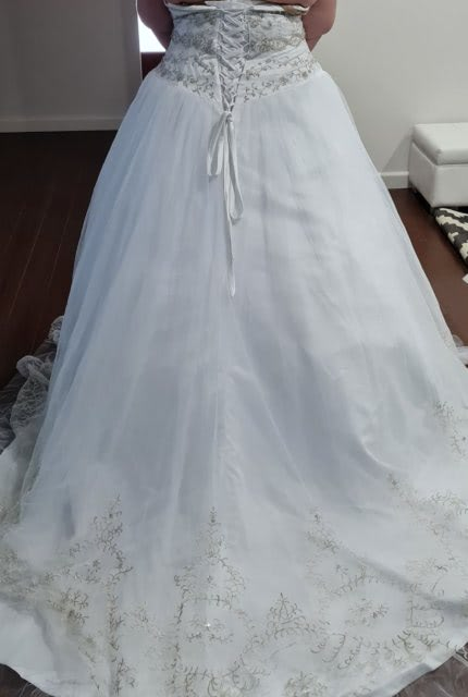 Bespoke / Other – Size 24 A-Line dress | Second hand wedding dresses Quakers Hill - 2