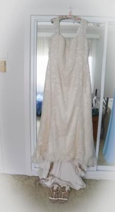 Maggie Sottero – Size 20 Fit and Flare dress | Second hand wedding dresses Charlestown - Size 20