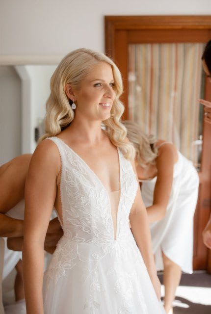 Bespoke / Other – Size 10 A-Line dress | Second hand wedding dresses Mermaid Waters, 4218, QLD - 2