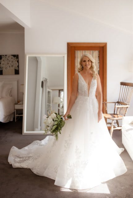 Bespoke / Other – Size 10 A-Line dress | Second hand wedding dresses Mermaid Waters, 4218, QLD - 5