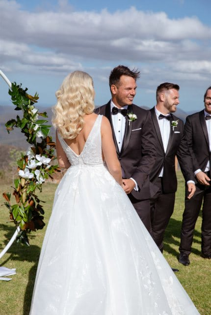 Bespoke / Other – Size 10 A-Line dress | Second hand wedding dresses Mermaid Waters, 4218, QLD - 4