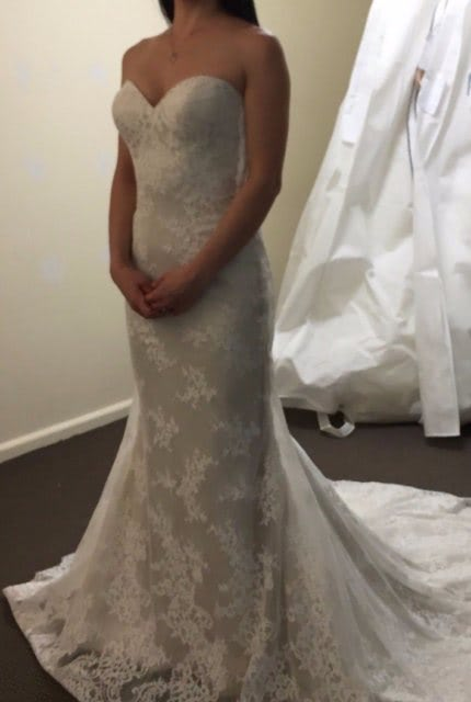 Private Label By G – Size 6 Fishtail dress   Second hand wedding dresses North Willoughby - Size 6
