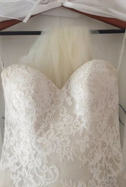 Private Label By G – Size 6 Fishtail dress   Second hand wedding dresses North Willoughby - 3