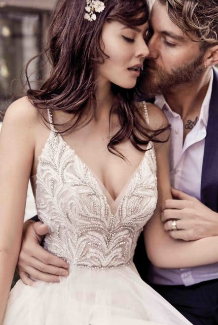 Abbey Bridal – Size 6 A-Line dress | Second hand wedding dresses Padstow - Size 6