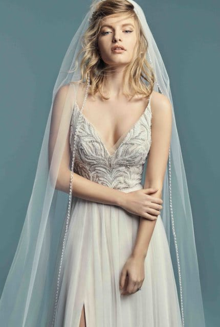 Abbey Bridal – Size 6 A-Line dress | Second hand wedding dresses Padstow - 3
