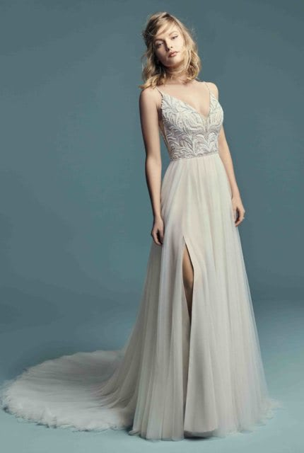 Abbey Bridal – Size 6 A-Line dress | Second hand wedding dresses Padstow - 4