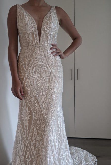 Bespoke / Other – Size 10 Fit and Flare dress | Second hand wedding dresses 3161 - 6