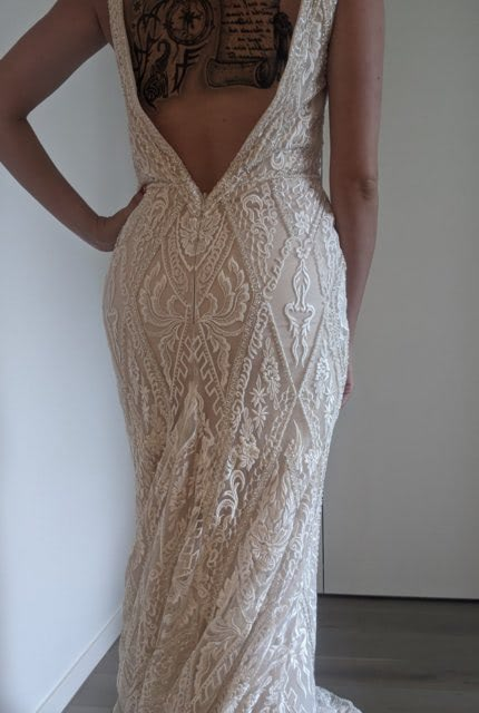 Bespoke / Other – Size 10 Fit and Flare dress | Second hand wedding dresses 3161 - 7