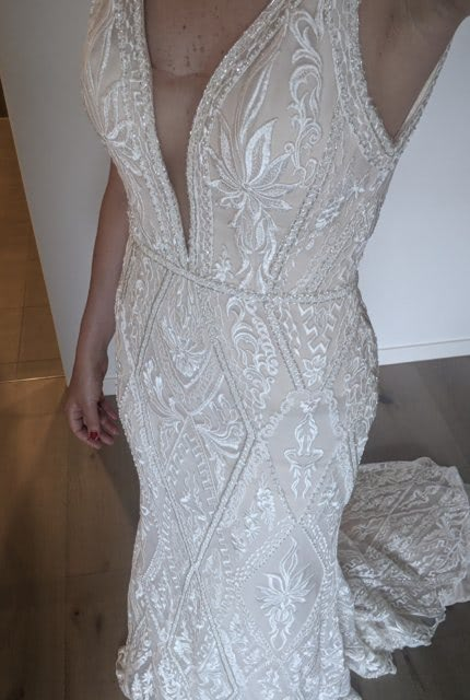 Bespoke / Other – Size 10 Fit and Flare dress | Second hand wedding dresses 3161 - 5