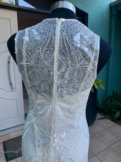 Rosa Clara – Size 12 Fit and Flare dress   Second hand wedding dresses The Gap - 4