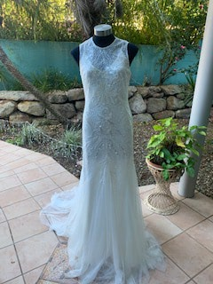 Rosa Clara – Size 12 Fit and Flare dress   Second hand wedding dresses The Gap - 2