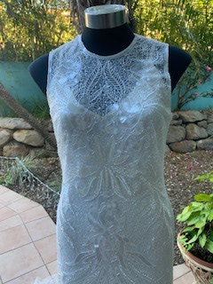 Rosa Clara – Size 12 Fit and Flare dress   Second hand wedding dresses The Gap - 3