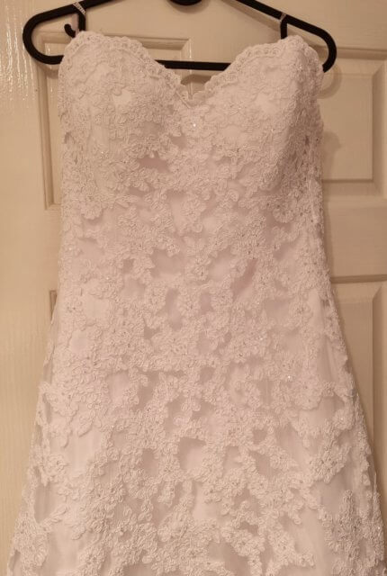 Maggie Sottero – Size 10 A-Line dress | Second hand wedding dresses NGUNNAWAL - 6