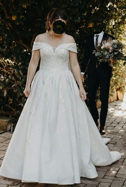Bespoke / Other – Size 12 Ball Gown dress | Second hand wedding dresses Theresa Park - Size 12