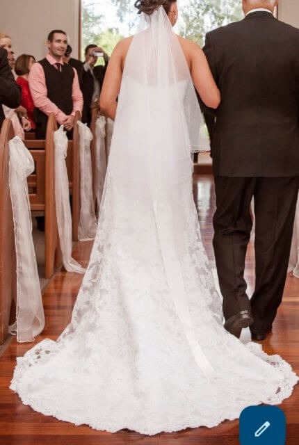 Maggie Sottero – Size 10 A-Line dress | Second hand wedding dresses NGUNNAWAL - 3