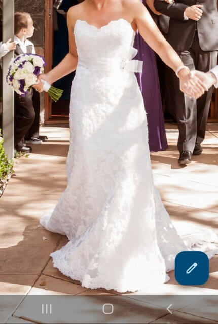 Maggie Sottero – Size 10 A-Line dress | Second hand wedding dresses NGUNNAWAL - 2